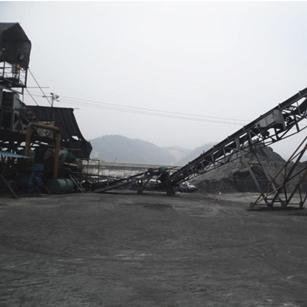 磁铁矿粉生产现场